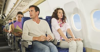 Big Fear Of Travelling By air