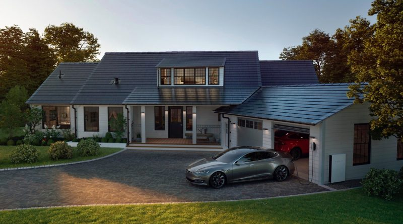 The New Tesla Solar Roof