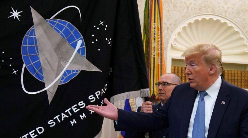 Introduction of the News Space Force flag