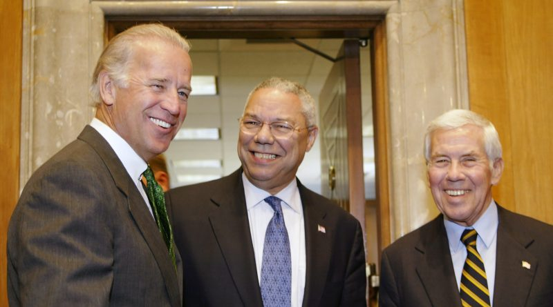 Powell is Supporting Biden