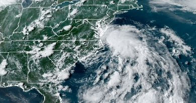 Tropical Storm Fay Getting Closer to Shore